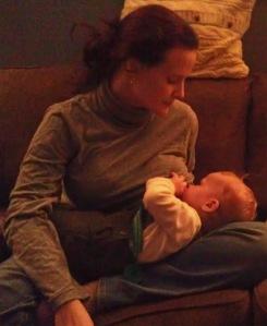 Nursing my Matthias, at thirteen months